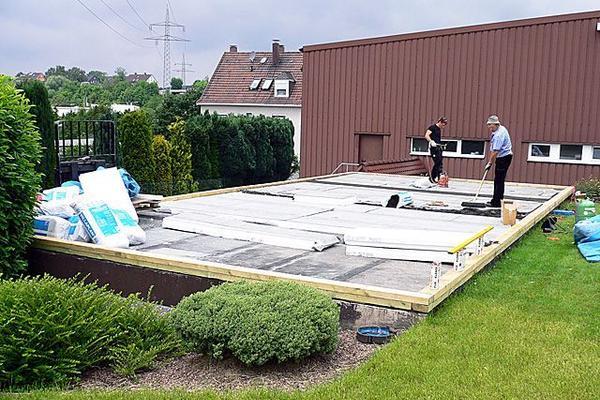 Dachbegrünung von Flachdächern